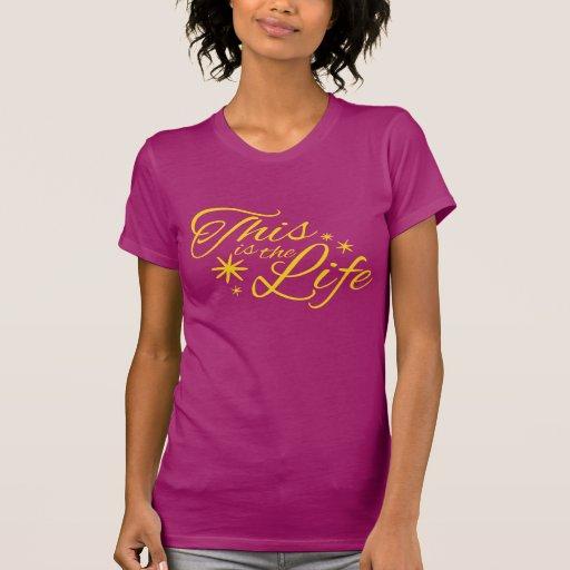 Ésta es la camiseta tipográfica del lema del amari