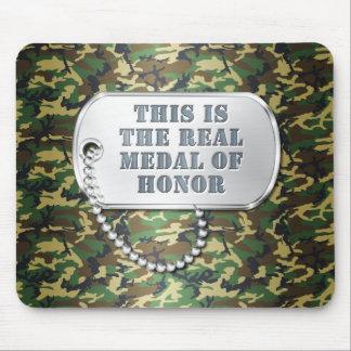 Ésta es la medalla de honor REAL Tapetes De Ratón