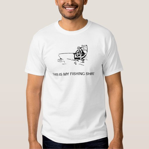 Ésta es mi camisa de la pesca