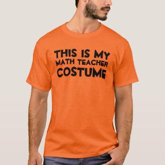 Ésta es mi camisa del traje del profesor de
