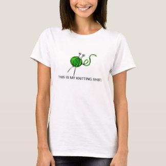 Ésta es mi camisa que hace punto