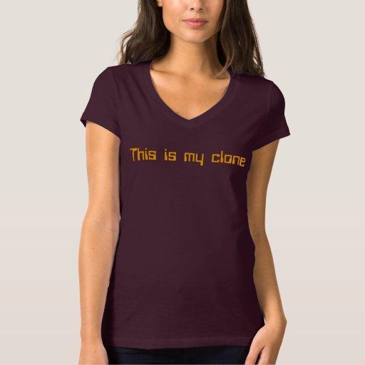 Ésta es mi camiseta de la COPIA Remeras