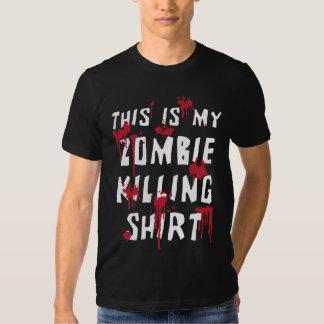 Ésta es mi camiseta salpicada sangre de la matanza polera