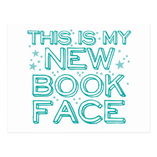 ésta es mi cara del nuevo libro postal