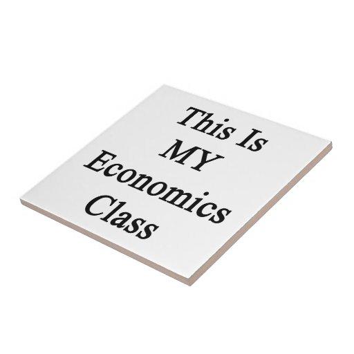 Ésta es MI clase de la economía Tejas