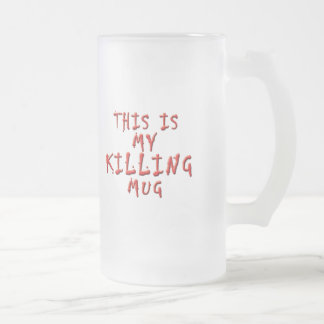 Ésta es mi matanza… taza de café