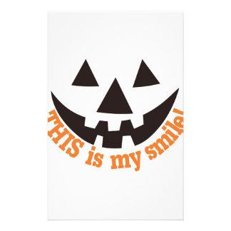 Ésta es mi sonrisa papelería personalizada