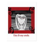 Ésta ES mi sonrisa Tarjetas Postales