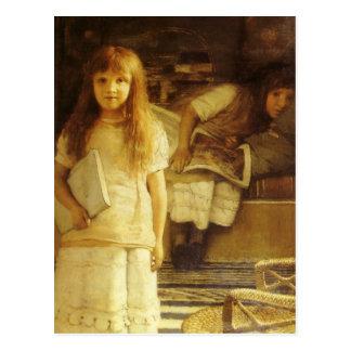 Ésta es nuestra esquina de sir Lorenzo Alma Tadema Postal