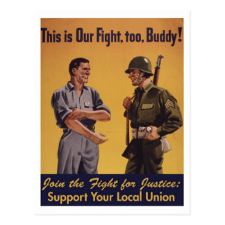 ¡Ésta es nuestra lucha, también! Postal