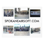Ésta es Spokane Airsoft.com Tarjetas Publicitarias