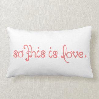 Ésta es tan cita del amor por citas que encantan cojin