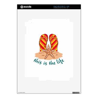 Ésta es vida calcomanías para el iPad 2