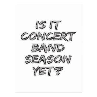 Está estación de la banda de música todavía tarjetas postales