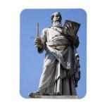 Esta estatua de Saint Paul está en el sitio derech Iman De Vinilo
