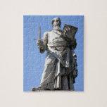 Esta estatua de Saint Paul está en el sitio derech Rompecabezas Con Fotos