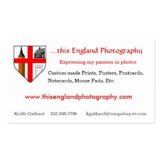 Esta fotografía de Inglaterra Plantillas De Tarjetas De Visita