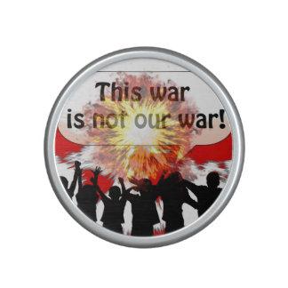 Esta guerra no es nuestra guerra altavoz