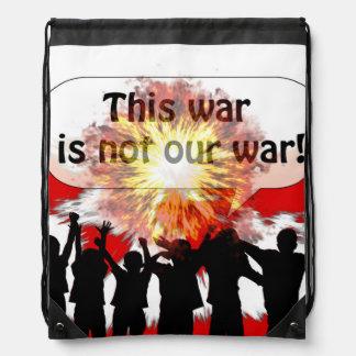 Esta guerra no es nuestra guerra mochila