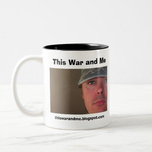 Esta guerra y yo taza