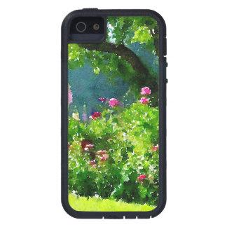 Esta impresión de la acuarela refleja la belleza funda para iPhone 5 tough xtreme
