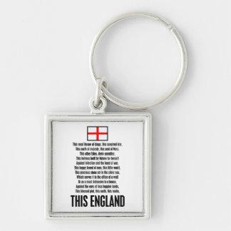 Esta Inglaterra Llaveros Personalizados