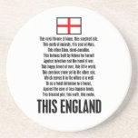 Esta Inglaterra Posavaso Para Bebida