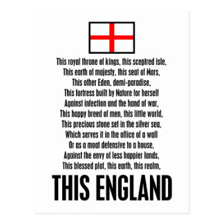 Esta Inglaterra Tarjeta Postal