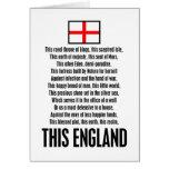Esta Inglaterra Tarjetón