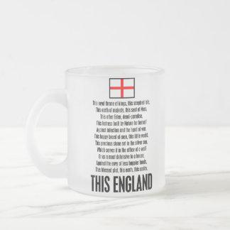Esta Inglaterra Taza