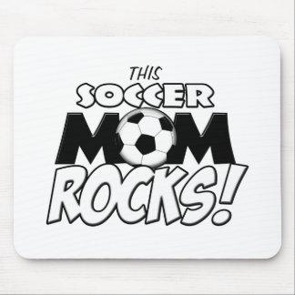 Esta mamá Rocks.png del fútbol Tapete De Ratones