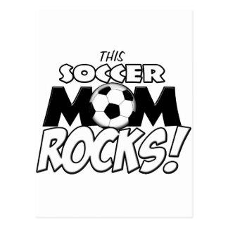 Esta mamá Rocks.png del fútbol Postal