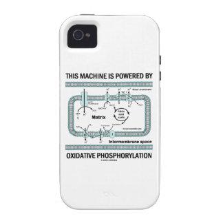 Esta máquina accionada por la fosforilación oxidat Case-Mate iPhone 4 carcasas