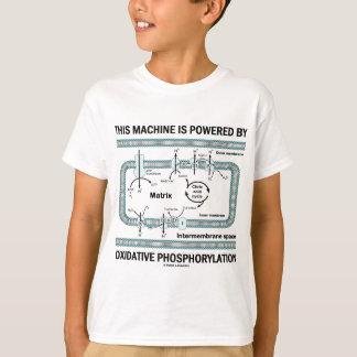 Esta máquina accionada por la fosforilación playera