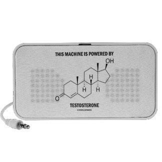 Esta máquina es accionada por la testosterona (la portátil altavoces