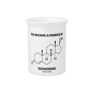 Esta máquina es accionada por la testosterona (la jarras para bebida