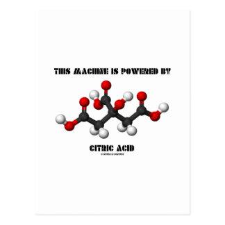 Esta máquina es accionada por química del ácido postales