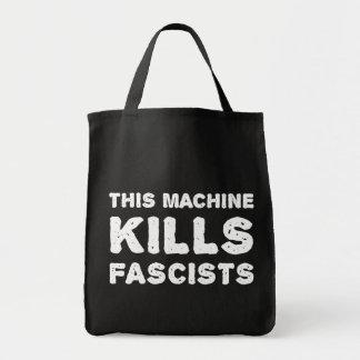 Esta máquina mata a fascistas bolsas de mano