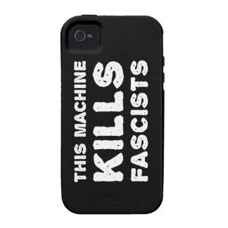 Esta máquina mata a fascistas Case-Mate iPhone 4 carcasas