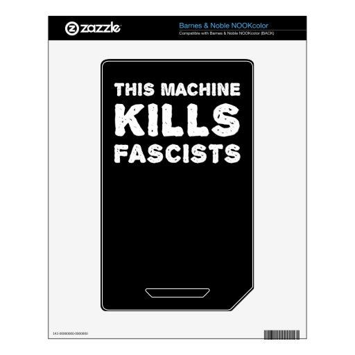 Esta máquina mata a fascistas skins para elNOOK color