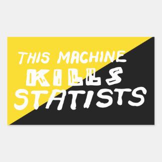 Esta máquina mata a Statists Rectangular Altavoces