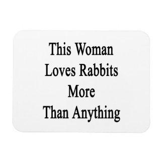 Esta mujer ama conejos más que cualquier cosa iman