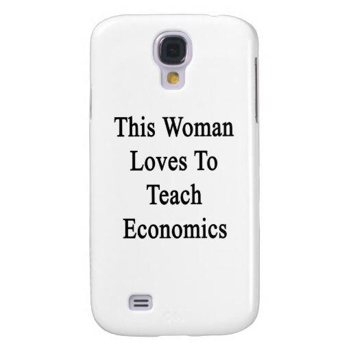 Esta mujer ama enseñar a la economía funda para galaxy s4