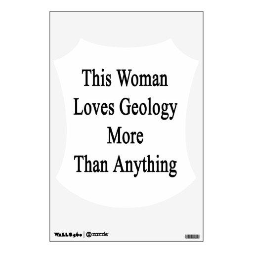 Esta mujer ama la geología más que cualquier cosa