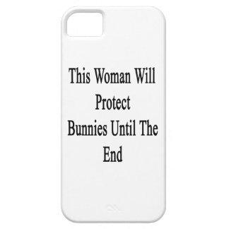 Esta mujer protegerá conejitos hasta el extremo iPhone 5 Case-Mate cárcasas