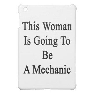 Esta mujer va a ser mecánico