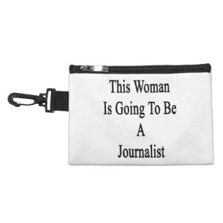 Esta mujer va a ser periodista