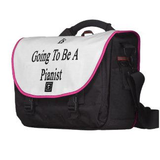 Esta mujer va a ser pianista bolsas para portatil