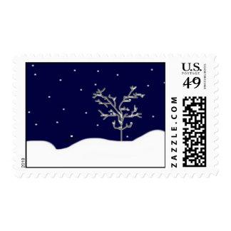 Está nevando… sellos