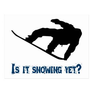 ¿Está nevando todavía - Snowboard Postal